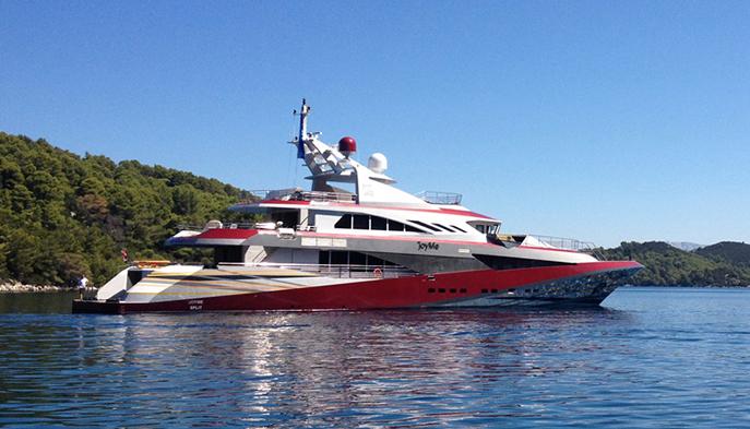 JoyMe супер яхта - Роскошный интерьер главной палубы